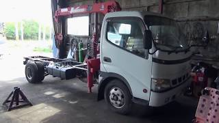 【第1回】2トントラックの荷台を作り中古車を仕上げて行きます。