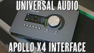 Universal Audio Apollo X4!
