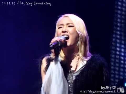 [fancam] Younha - Say Something @ Daegu Time2Rock concert