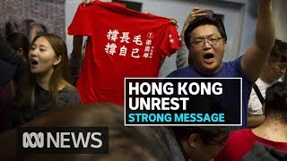 Hong Kong's democrats sweep local elections in snub to Beijing-backed establishment | ABC News