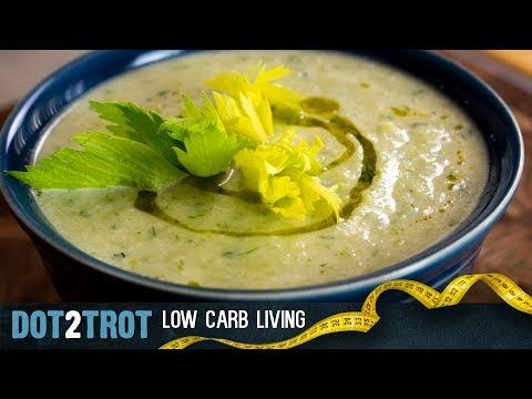 Creamy Keto Celery Soup
