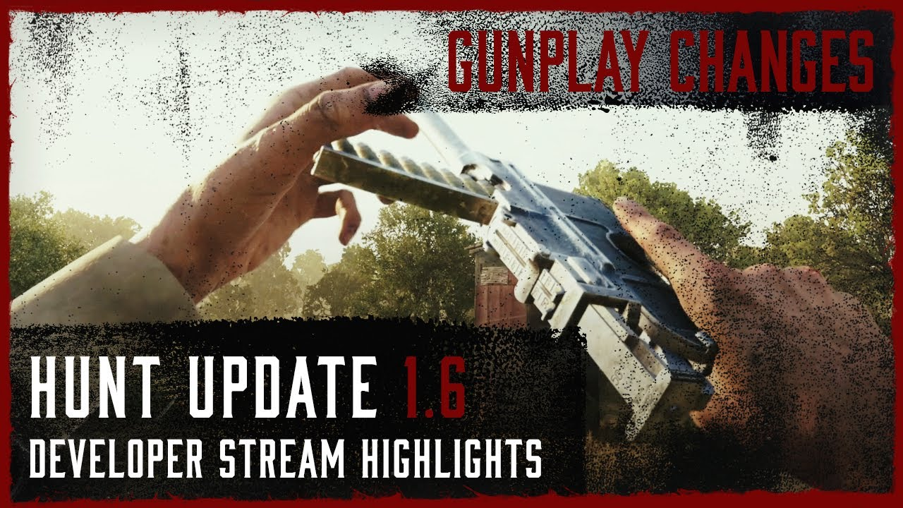 Dolch And Explosive Ammo Changes I Update 1.6 Developer Live Stream Highlight