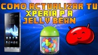 Como Actualizar Xperia P a Android 4.1.2 Jelly Bean Telcel MX