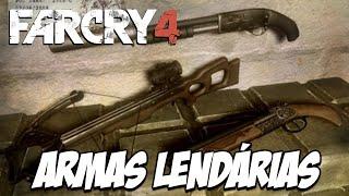 Far Cry 4 Piratas Mercenários - Em Busca das Armas LENDÁRIAS