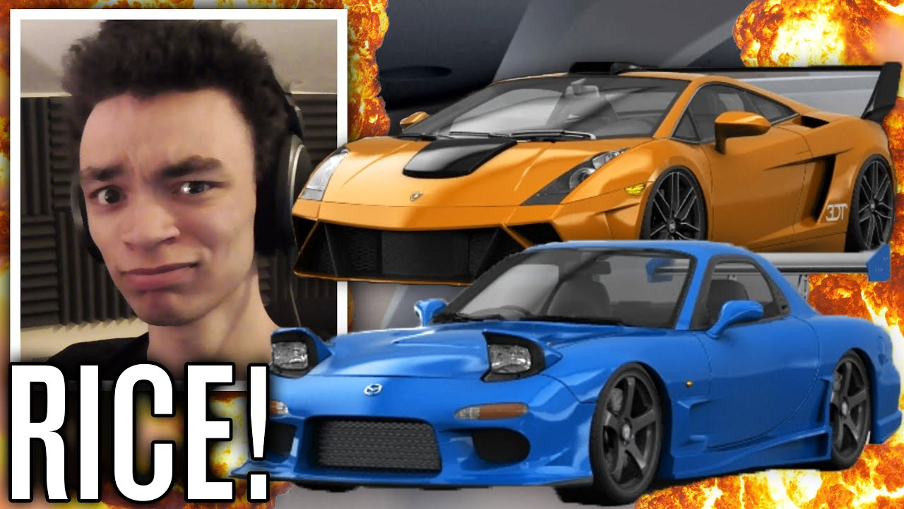 RICE IS LIFE | (Mazda RX-7 & Lamborghini Gallardo) | 3DTuning #7 ...