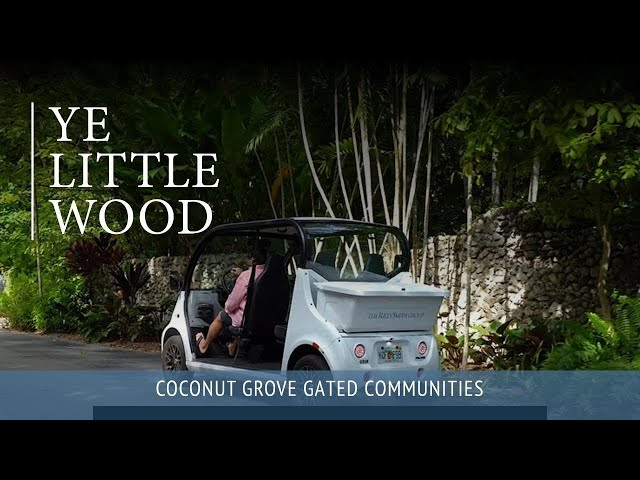 Ye Little Wood, Coconut Grove  |  By Riley Smith