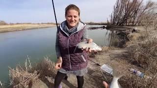 рыбалка Каратал Алматинская область река Каратал Река радует нас рыбой лещем