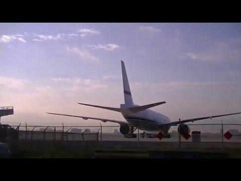 Private VIP Boeing 777-200 in Miami, Florida