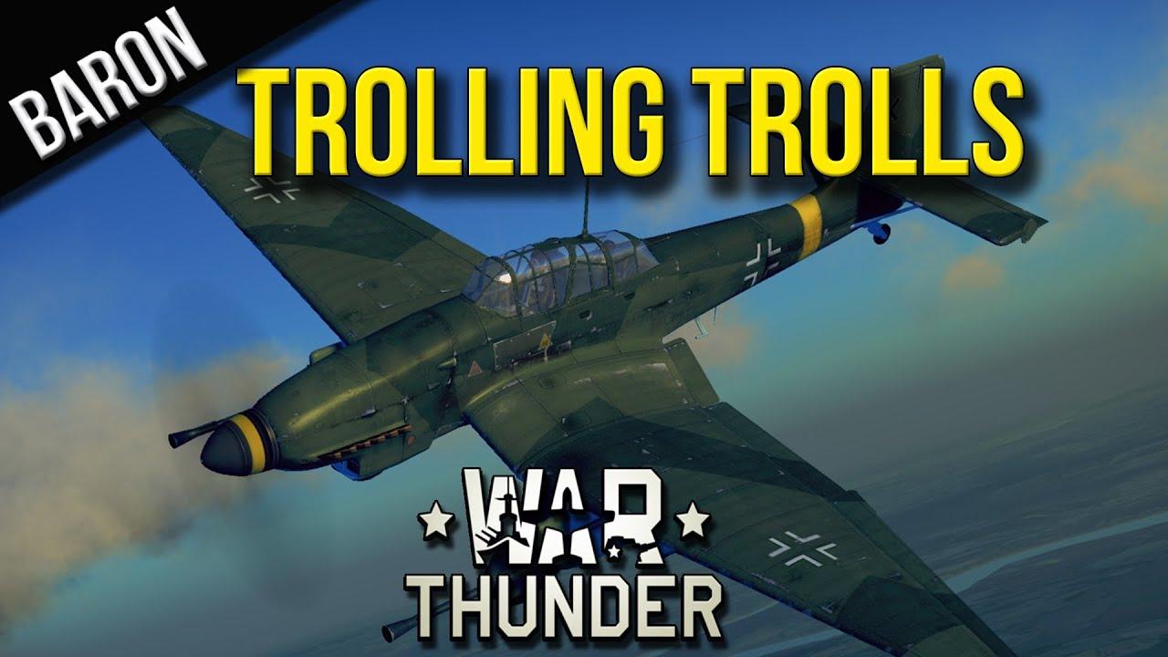 trolling war thunder