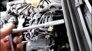 Tuto bougies et faisceau de préchauffage 407 hdi 1.6 moteur DV6