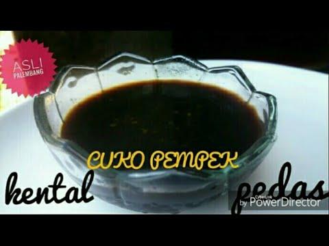 Resep Cuko Pempek Palembang | kental, pedas