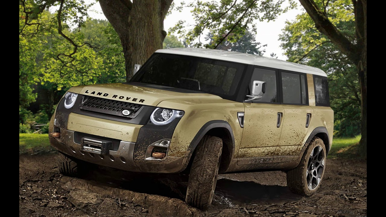 Concept 2019 Land Rover New Defender Ute Youtube