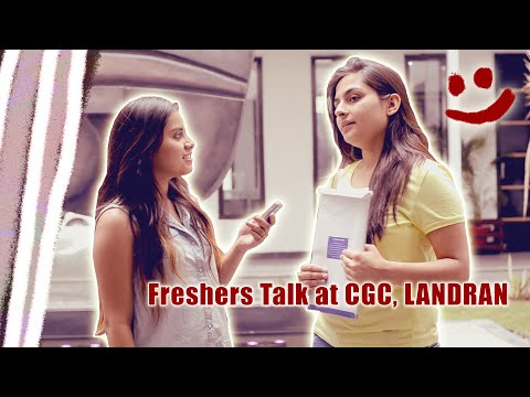 Freshers Talk at CGC, Landran !