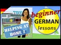 Helping at home in German (2) | Beginner German Lessons for Children