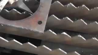 6 mm carbon steel fiber laser cutting machine by IPG laser