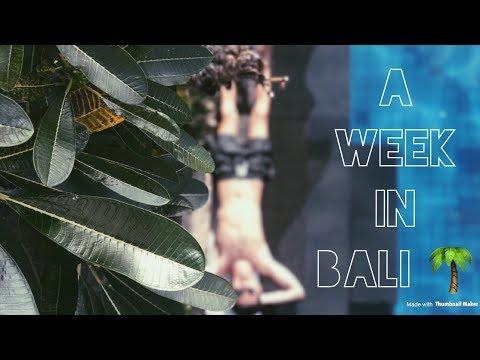 A week in Bali! 🌴