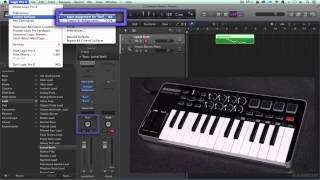 Graphite M25 Tutorial-Controller setup in Logic and Protools.