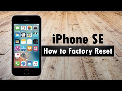 reset to factory settings iphone iphone se how to factory reset h2techvideos 17971