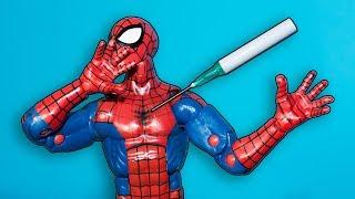 Пушка Спайдермена 🔫 / Как сделать Пистолет из бумаги / How to make Paper Gun easy SpiderMan DIY