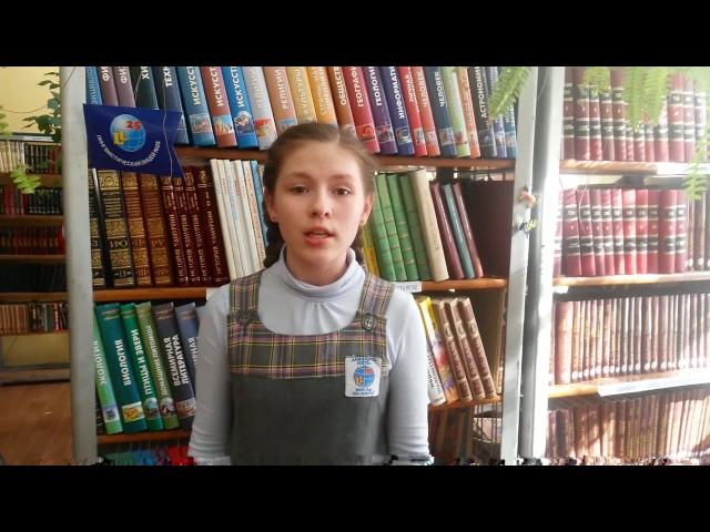 Изображение предпросмотра прочтения – ПолинаМитюшкина читает произведение «Чародейкою Зимою…» Ф.И.Тютчева