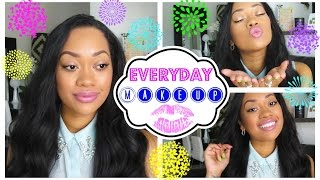 Simple Everyday Makeup Routine | Jamielle Laura Thumbnail