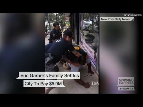 City settles in Eric Garner case