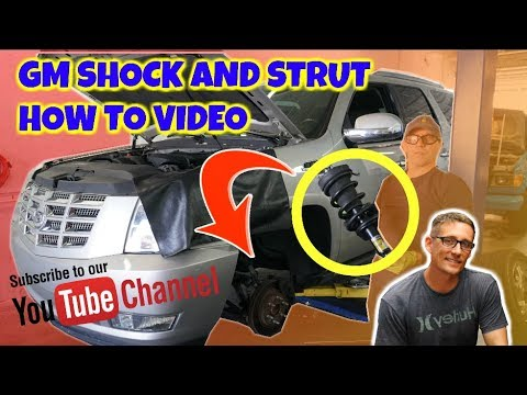 Replacing GM SUVs Electronic AutoRide Front Shock Strut Cadillac Escalade front strut Repair