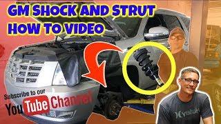 Replacing GM SUVs Electronic AutoRide Front Shock Strut Cadillac Escalade front strut Repair