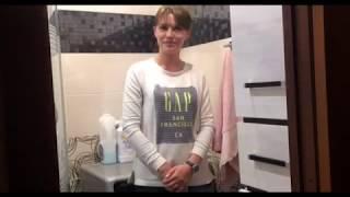 Видео-отзыв о ремонте ванной комнаты в панельном доме в Санкт-Петербурге