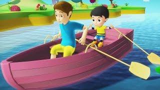 Row Row Row Your Boat | Nursery Rhyme | Kids Song