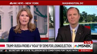 Rep. Schiff on MSNBC: Increasing Signs GOP Will Shut Down House Russia Inestigation
