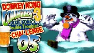 EISKALT UND GROßARTIG - Donkey Kong Country 3 Bier Challenge #5