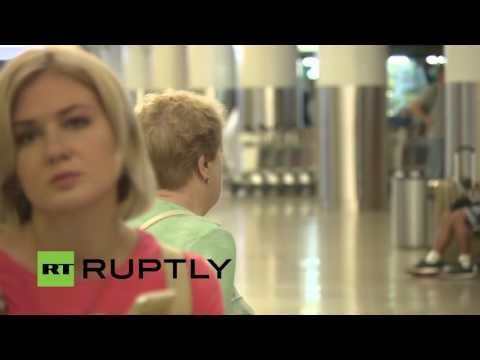 LIVE: Russians arrive in Moscow as Aeroflot begins evacuations from Turkey