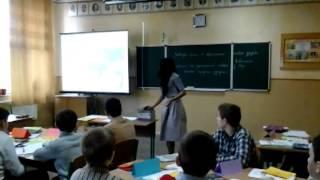 Учитель року-2015. Майстер-клас у чужій школі. Урок у 7 класі
