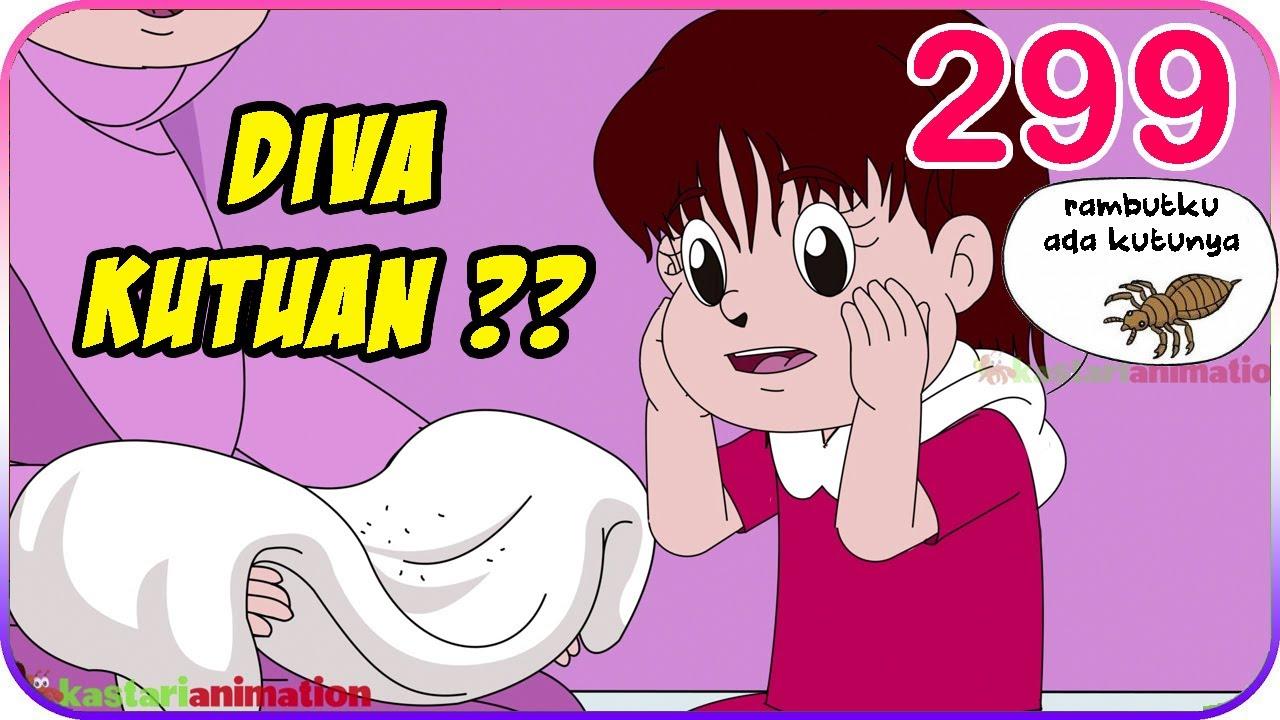 Seri Diva | Eps 299 RAMBUT DIVA ADA KUTUNYA?! [ ANIMASI VERSI 2 ] | Diva The Series Official