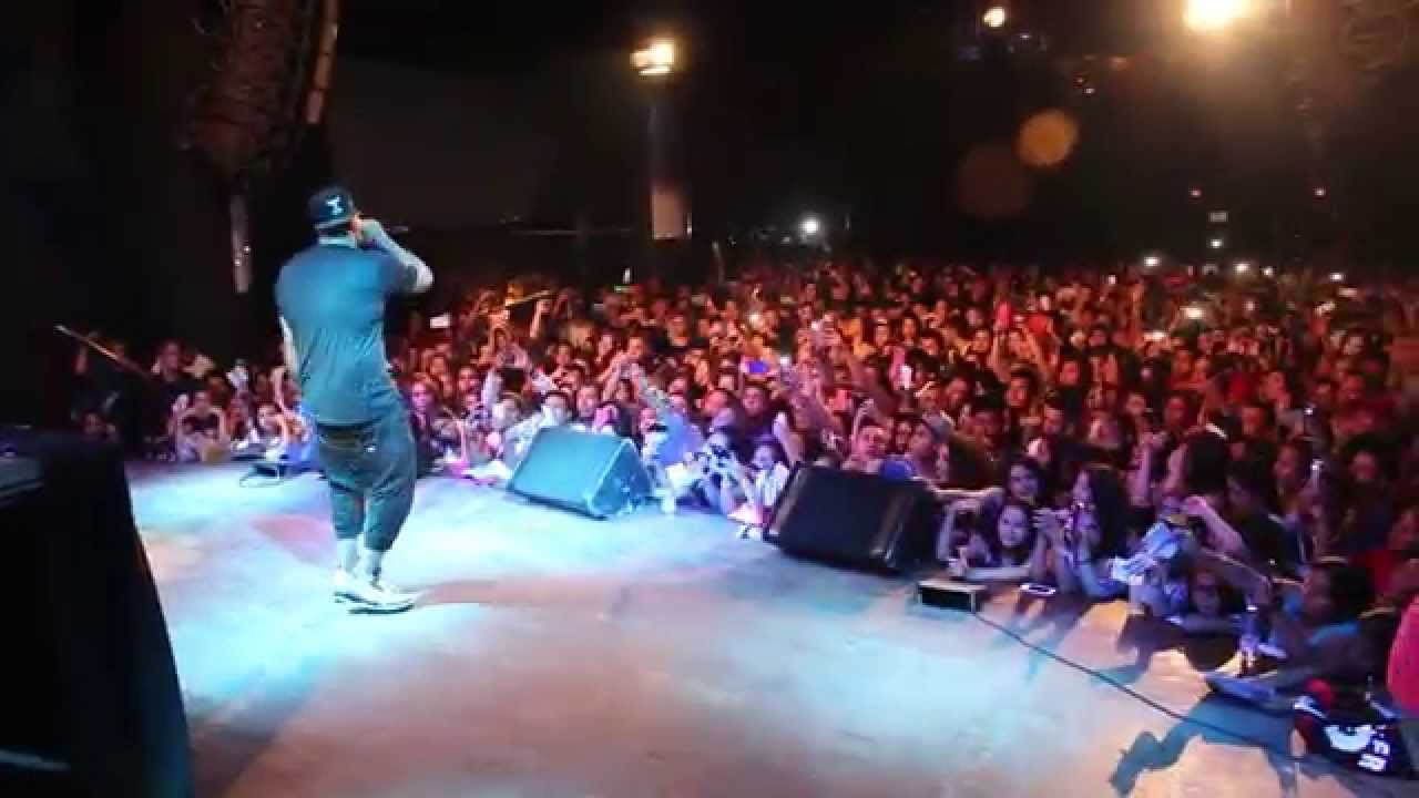 concierto nicky jam en barcelona sala bikini youtube