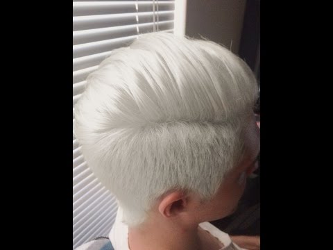 How to get white hair ♡