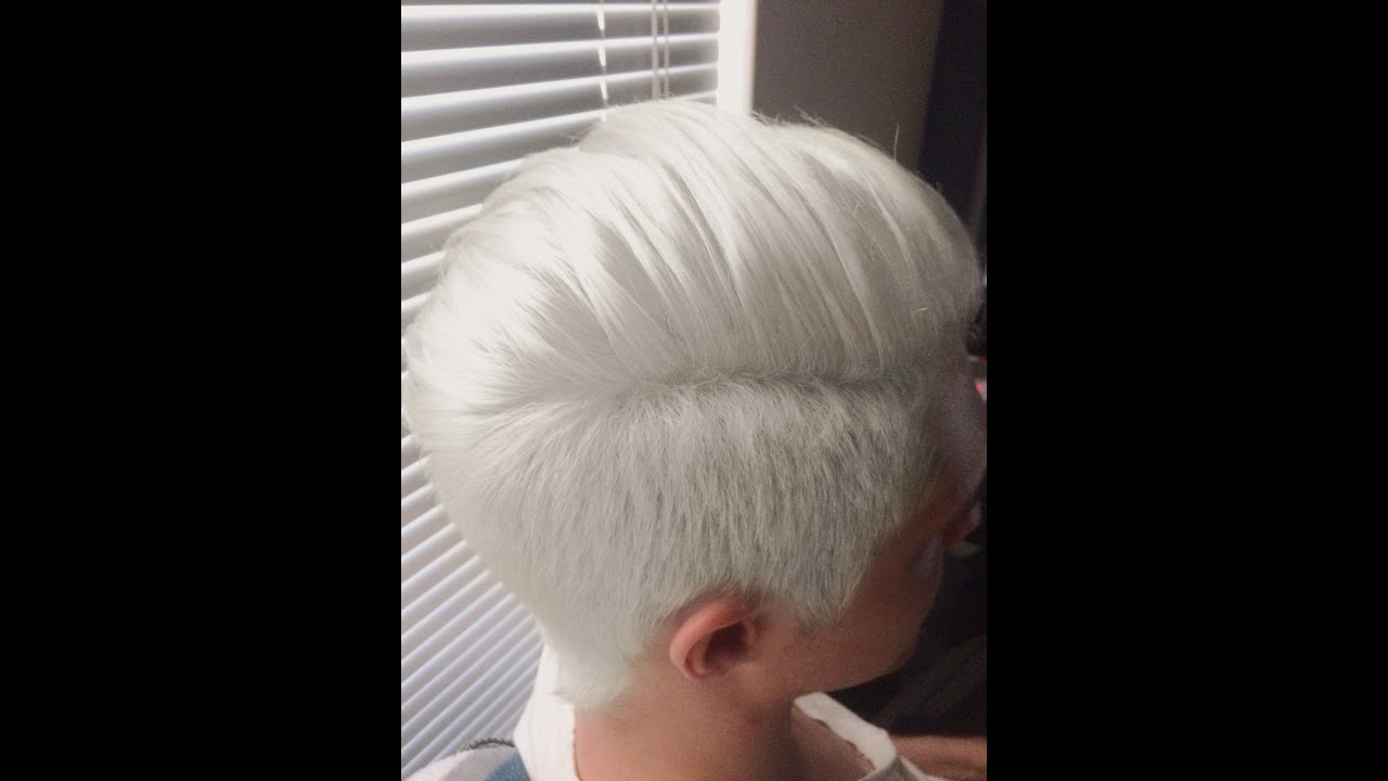 How To Get White Hair Youtube