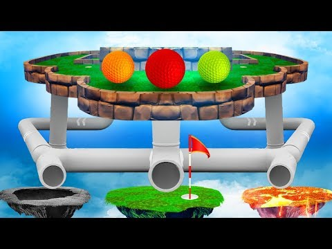 DEADLY GOLF PIPE GAMBLE! (Golf It)