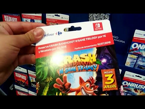 Crash Switch En Carrefour Youtube