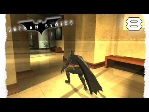 Let's Play Batman Begins  8  In der Falle  German Gameplay Walkthrough HD