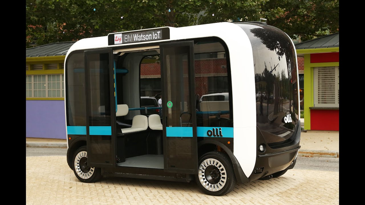 Cognitive Mobility: Olli the self-driving vehicle and Watson the cognitive system