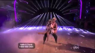 Kellie & Derek- Someone, Somewhere, Tonight- DWTS
