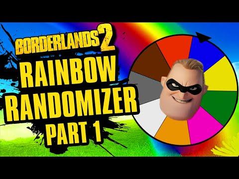 An Incredible Start | Rainbow Randomizer Part 1 | Borderlands 2 |