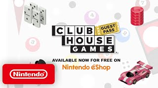 Clubhouse Games Guest Pass - Nintendo Switch
