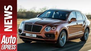 Bentley Bentayga Speed revealed - meet the world s fastest SUV