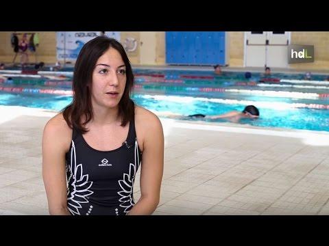 HDL Belén Domenech, una nadadora máster con una larga carrera de éxitos