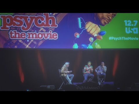 Psych The Movie World Tour 2017 NYC Screening Q&A