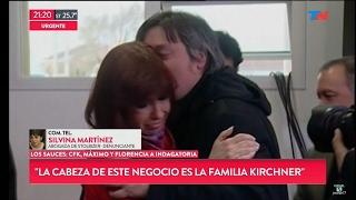 "Silvina Martínez en ""TN Central"" con Wiñazki, Geuna, y Farella - 03/02/17"