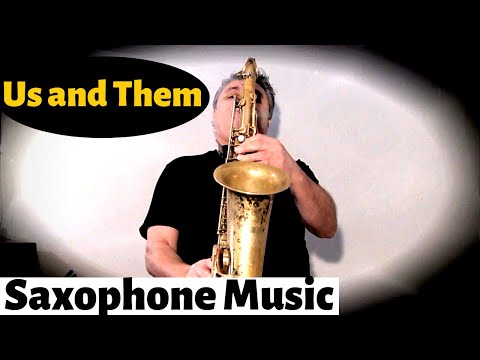 Us and Them - Saxophone Music and Backing...